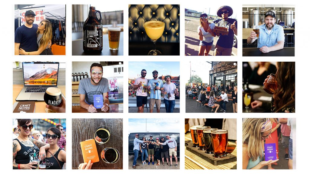 hanging out with craft beer friends. The best breweries, distilleries, and parties
