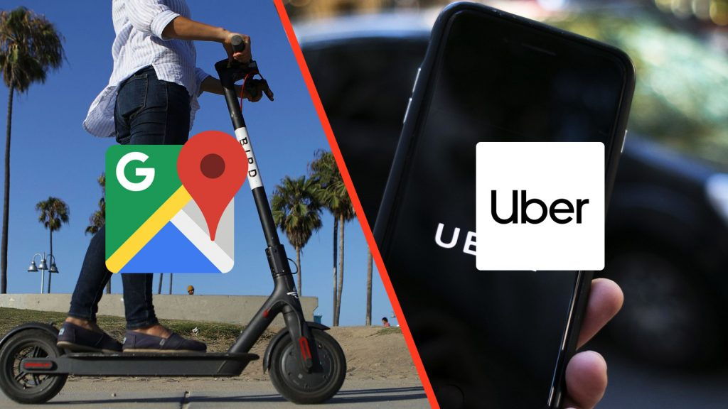 google maps and uber rideshare make getting to local breweries safe and easy