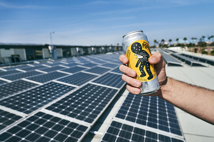 craft notes is carbon neutral and runs on solar (and craft beer)