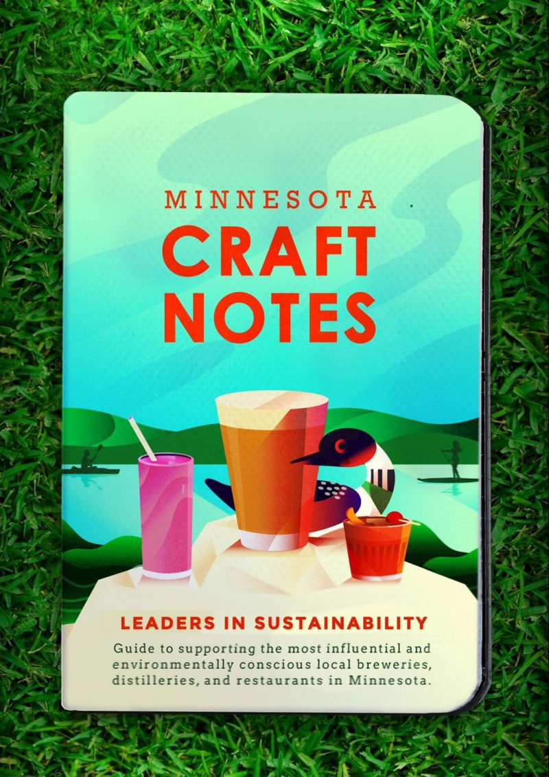craft notes craft beer and drink passport for breweries, distilleries, and restaurants in Minnesota