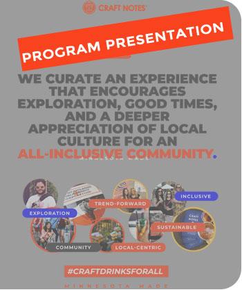 craft notes program: becoming a partner