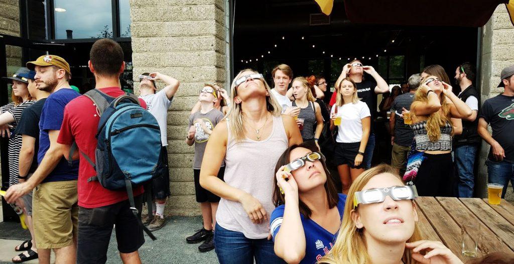 Craft Beer hangout at Minneapolis Minneosta Sociable Cider werks
