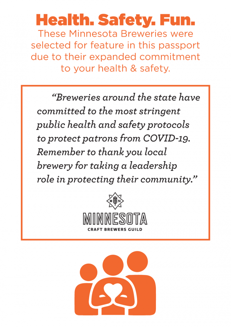 Minnesota Brewery Corona Virus response and policy