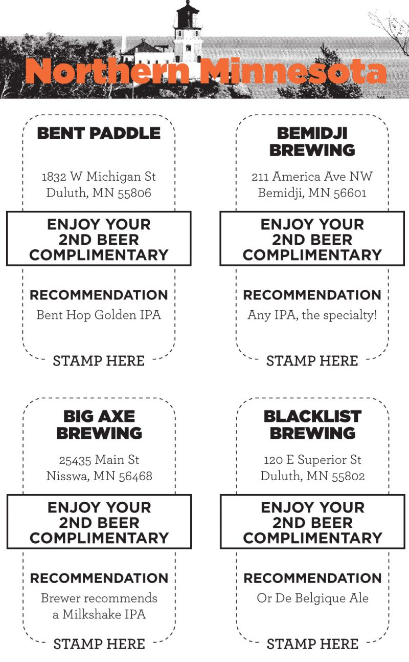 craft notes official mn craft beer passport pub pass