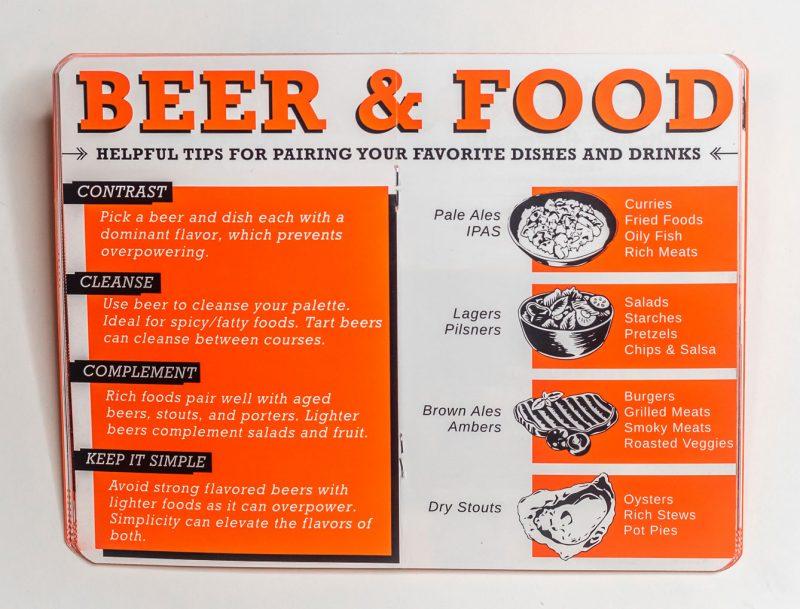 craft beer food pairings best ways to pair food and craft beer