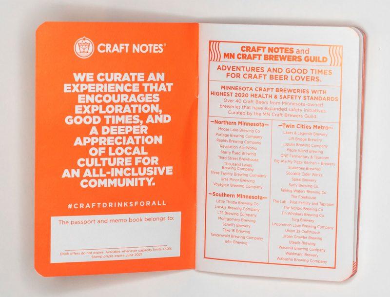 mn craft beer passport breweries