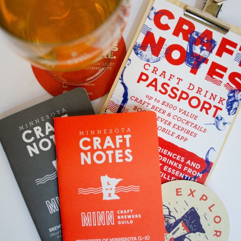 Minnesota Craft Brewers Passport - both versions for 2020 and 2021