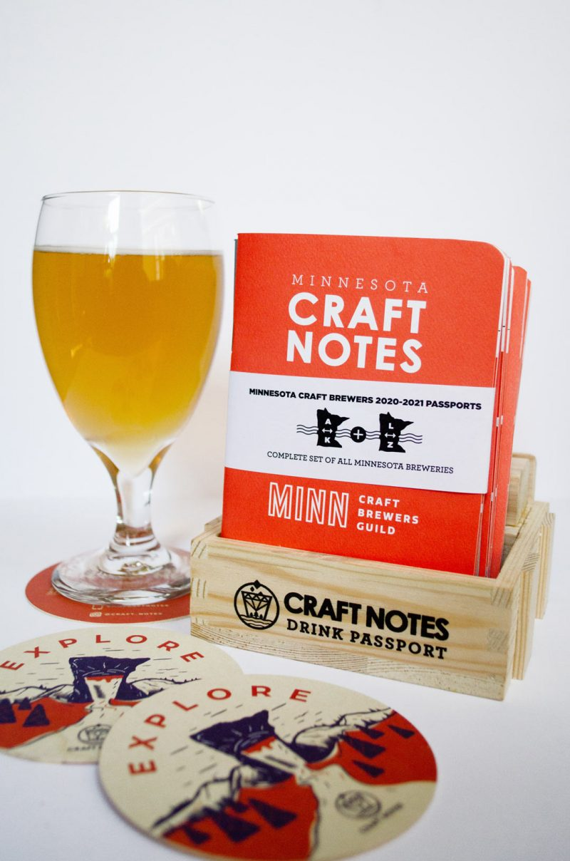 MN Craft Notes Passport and Pub Passport to Minnesota breweries