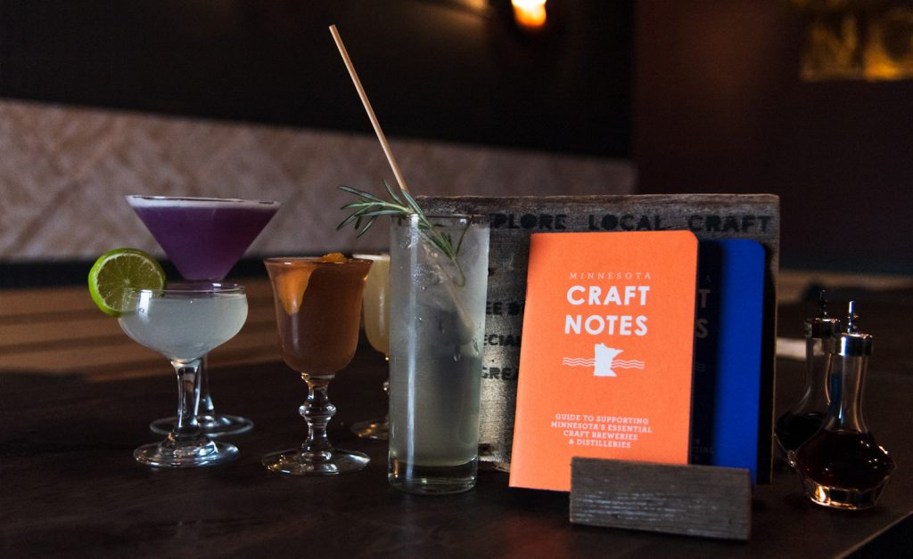 Craft Notes Passports MN Distilleries