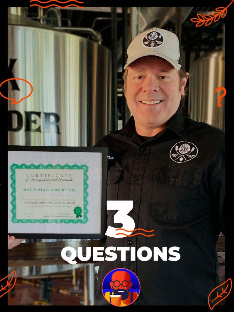 dan jacobs founder of bald man brewing eagan minnesota craft beer